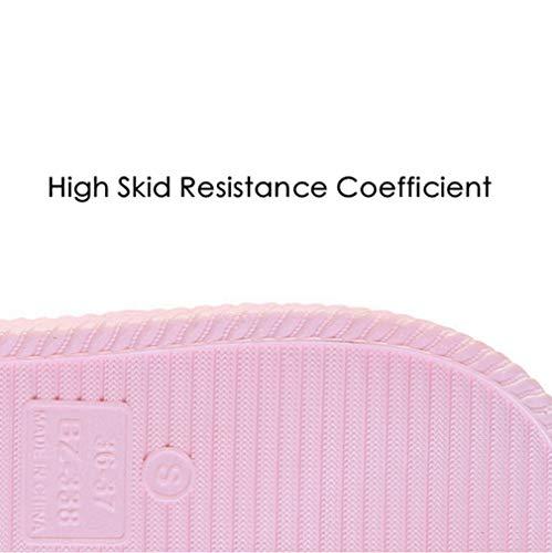 Slide For Non Hz59 Pool Gadiemkensd Slippers Women slip Grey Sandals Shoes Bathroom Dark FIwdqw8