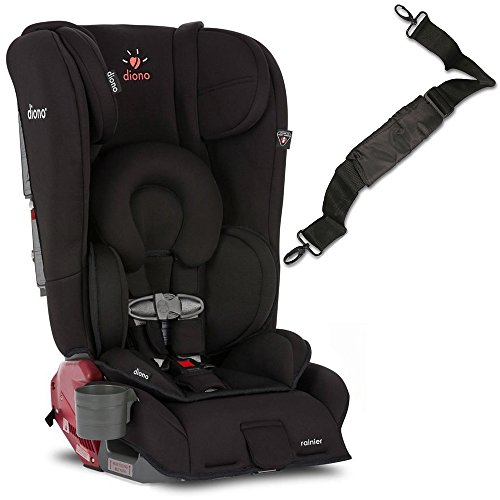 Diono Rainier Convertible Car Seat with Carry Strap - Midnight