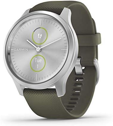 Garmin Vívomove 3 Classic Reloj Inteligente, Unisex Adulto, Verde Oliva, Medium