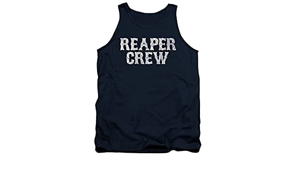 a898e3e0206 Amazon.com  Sons of Anarchy TV Show Reaper Crew Adult Tank Top Shirt   Clothing