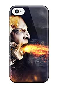 Cute Appearance Cover/tpu WpMwMAR9577ZyyHw Anger Case For Iphone 4/4s BY icecream design