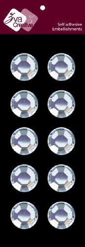 Zva Creative CRW-05CA-169 Crystal Sticker, Clear Individuals (Zva Creative)