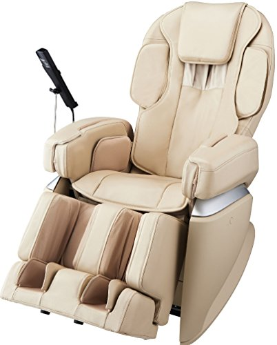 Osaki OSJPPREMIUM40D Model Osaki-JP Premium 4.0 Japan Massage Chair, Cream, 4D Massage Technology, 3D & 9 Stages of Strength Adjustment, Double Sensors for Shoulder, Double Heater System, Arm Massage