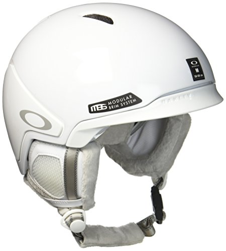 White Shoes Oakley (Oakley Mod3 Factory Pilot Snow Helmet, Matte White, Medium)