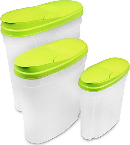 Food Storage Container (Green, 3-Pack) - BPA ...