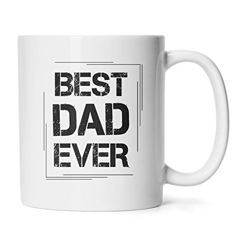 Father's Day Mugs Birthday Presents Gag Gifts For Daddy To Be Best Dad Ever Coffee Cups 11 Oz