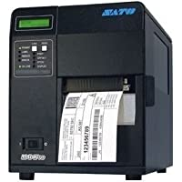 Sato WM8420241 Series M84PRO Industrial Thermal Printer, 203 dpi Resolution, 10 ips Print Speed, Ethernet Interface with Dispenser, DT/TT, 4.1