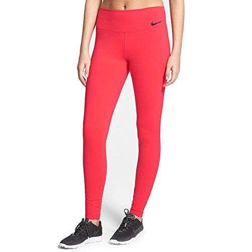 Nike Women's Dri-Fit Legendary Training Tights-Action red-Medium