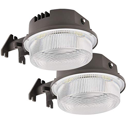 30W LED Barn Lights Dusk to Dawn Outdoor Area Lights Photocell Included BBOUNDER 9800LM (700W Incandescent Equiv.) 5000K Daylight Weatherproof (2pack)