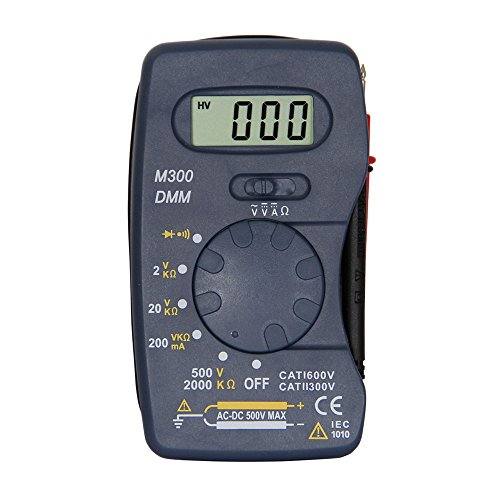OLSUS M300 LCD Handheld Digital Multimeter for Home and Car - Blue by OLSUS (Image #1)