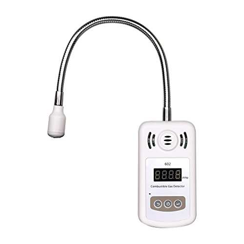 DEEPLITE Natural Gas Detector, Digital Propane Detector, Portable Battery LP Gas Leak Detector with Alarms for Home, RV (Confined Space Gas Detector)