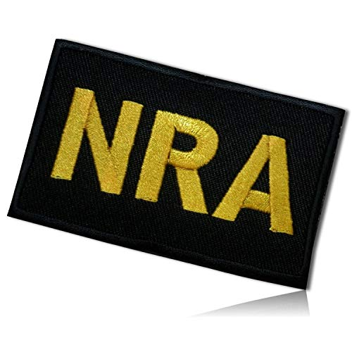 NRA National Rifle Association of America 2nd Second Amendment Gun Control USA American Civil Rights to Bear Arms Organization Advocates Hook & Loop Fastener Patch [2
