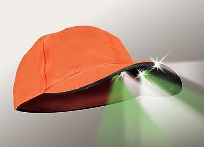 Panther Vision 5 LED Blaze Orange Hunting Hat