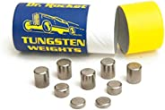 Pinewood Car Derby Weights Tungsten 3.25oz. Pine Race Car Power with Varied Sizes of Incremental Cylinders. He