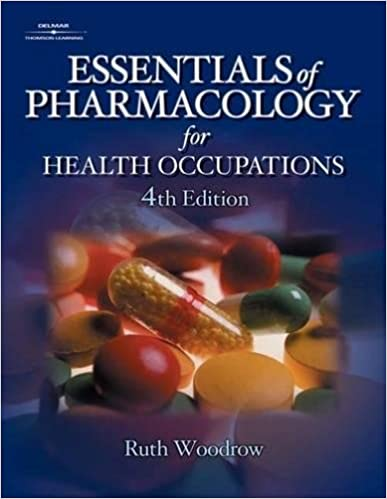 essentials of pharmacology for health occupations 7th edition study guide
