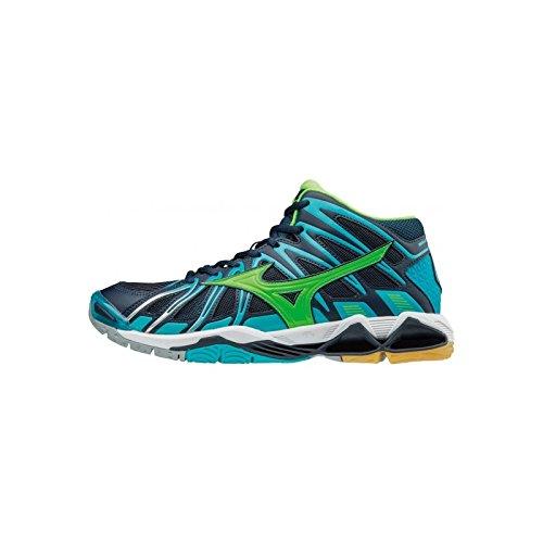 Mizuno Men''s Wave Tornado X2 Mid Volleyball Shoes