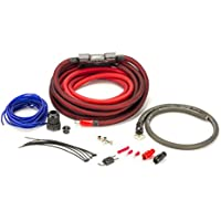 SCOSCHE EFXAKC4 4Awg Ofc Amp Power Kit; 100A Mini-Anl, Ultra-Flex Fine Strand, Ultimate Ground, Retail Double Blister