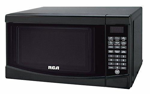 RCA RMW733-BLACK Microwave Oven, 0.7 cu. ft., Black .#GH45843 3468-T34562FD765281