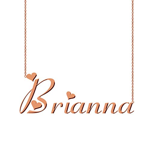 HUAN XUN Customized Any Name Necklace Brianna