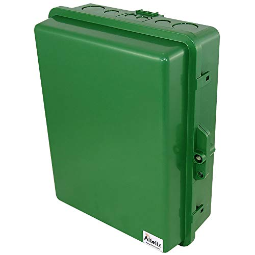Altelix Green NEMA Enclosure 14x11x5 (12
