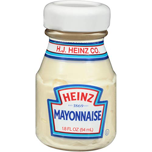 1.8 Ounce Jars - Heinz Mayonnaise (1.8 oz Packets, Pack of 60)