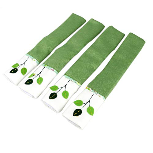 AQUEENLY Refrigerator Handle Covers Anti-Slip Microwave Oven Dishwasher Door Handle Decoration Kitchen Appliances Gloves, 2 Pairs with Green