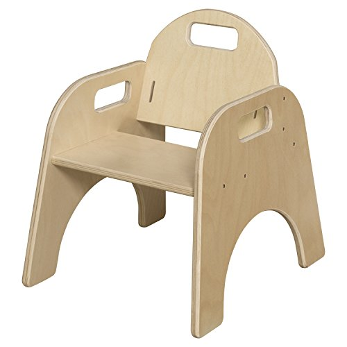 Wood Designs Stackable Woodie Toddler Chair, 9