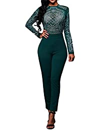 Amazon.com: Green - Jumpsuits & Rompers / Jumpsuits, Rompers ...