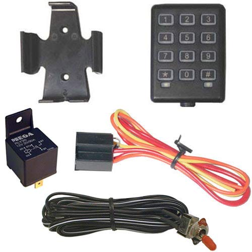 Megatronix KP20 Illuminated Digital Keypad Starter Kill Immobilizer Security System (System Theft Immobilizer Anti)