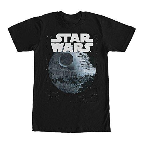 Star Wars Death Star Logo - Black (Medium) (Star Wars Death Star Pro Galaxy Projector Silver)