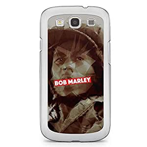 Bob Marley Samsung Galaxy S3 Transparent Edge Case - Heroes Collection
