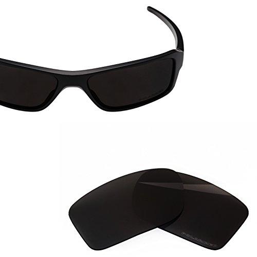 (BlazerBuck Anti-salt Polarized Replacement Lenses for Oakley Double Edge - Black)