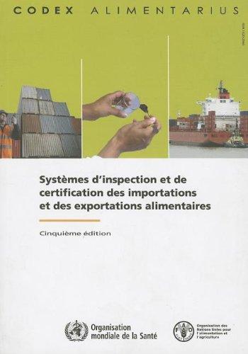 Systèmes d'Inspection et de Certification des Importations et des Exportations Alimentaires: Commission FAO/OMS du Codex
