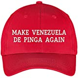 Make Venezuela De Pinga Again Hat Embroidered Baseball Dad Cap Gorra Venezuela Hat Resistencia Vinotinto Libertad