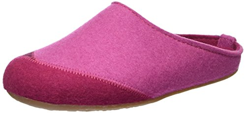 Haflinger Everest Lasse - Pantuflas Unisex adulto Rosa (Pink)
