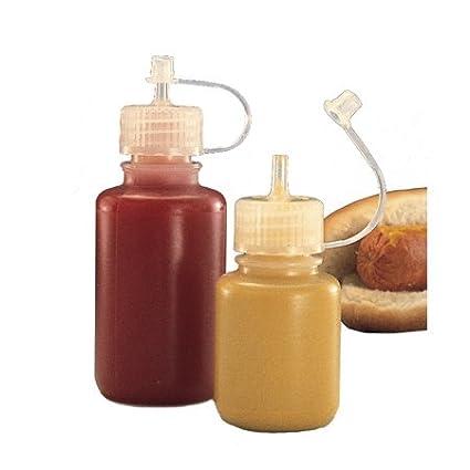 69c0decbdf Amazon.com: Nalgene Plastic Drop Bottle 2 oz.: Sports & Outdoors