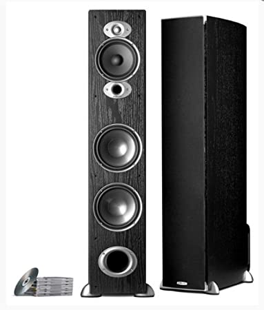 speakers in amazon. polk audio rti a7 floorstanding speaker (single, black) speakers in amazon