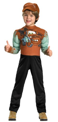 [Tow Mater Classic Muscle Costume - Medium (7-8)] (Cars Movie Costumes)