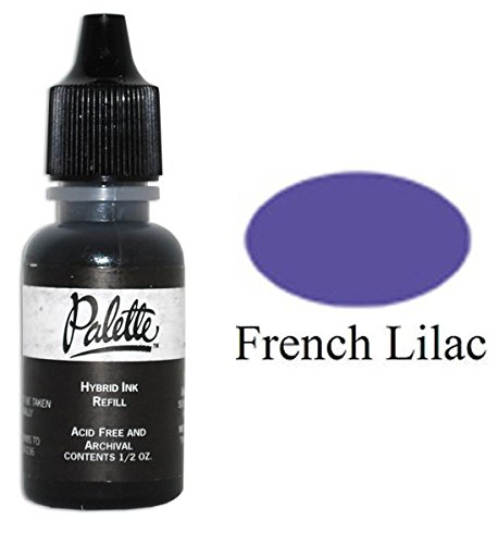 Lilac Hybrid (Stewart Superior -- Palette Hybrid Refill Ink 1/2 oz. // French Lilac (Dark Purple) From Palette's