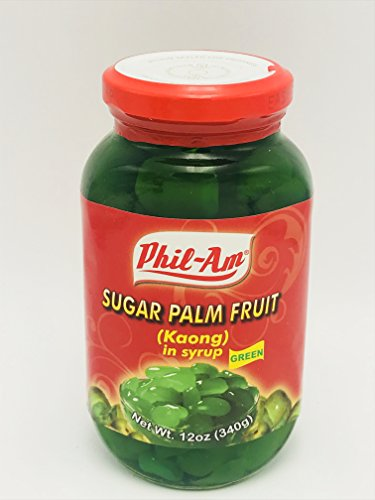 Sugar Palm Fruit Green (Kaong Green) (3 Pack)