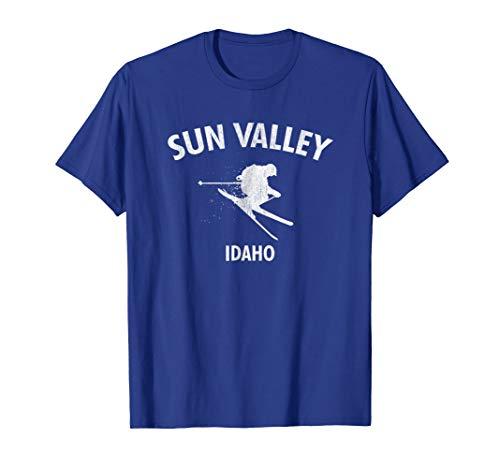 Sun Valley Skiing Tee Idaho Ski T-shirt