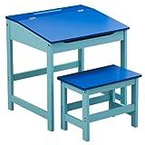 Childrens Desk & Chair Set ~ Blu