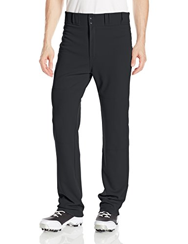 Easton Men's Rival 2 Solid Baseball Pants, Black, Medium