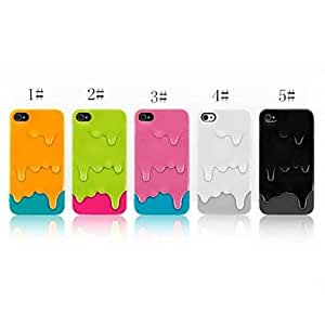 DUR Ice Cream Pattern Back Case for iPhone 4/4S (Assorted Color) , 3#