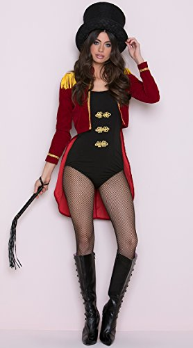 Adult Lion Tamer Costume (Sassy Ring Leader Adult Costume -)
