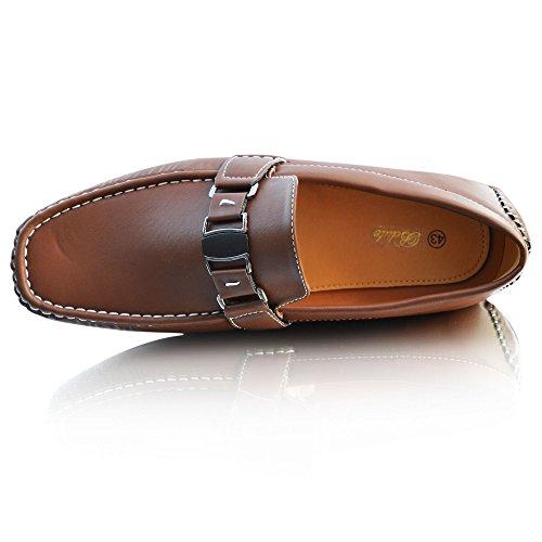 marrón Cordones Botas Sin Xelay Hombre wqxISpwE