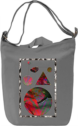 Hipster Abstraction Borsa Giornaliera Canvas Canvas Day Bag| 100% Premium Cotton Canvas| DTG Printing|