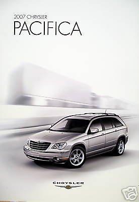 Chrysler Brochure (2007 Chrysler Pacifica wagon new vehicle brochure)