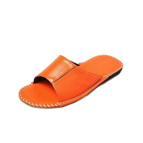 pour TELLW Femme Chaussons Women Orange x8pnXqTpv