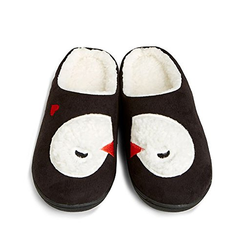 Gray Slippers Cozy Bradley Penguins Playful Vera Womens wRqYPaxxt